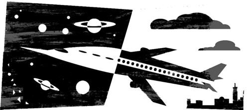 Oped air space travel