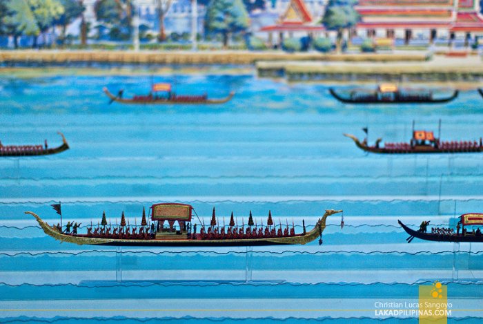 Chao Phraya River Tour Royal Barge Museum Model
