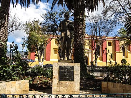 San Cristóbal de las Casas: la Plaza 31 de Mayo