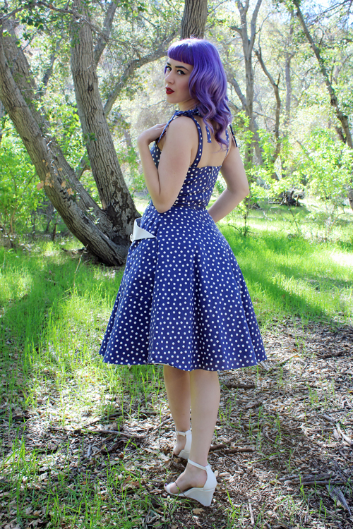 Trashy Diva Lucy Dress in Lucy Dots