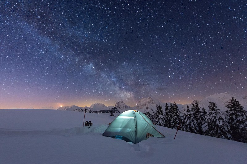 Camping under the stars - Gurnigel