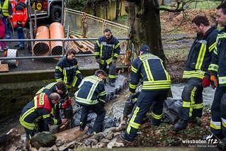 Wasserrohrbruch Rambach 05.03.16