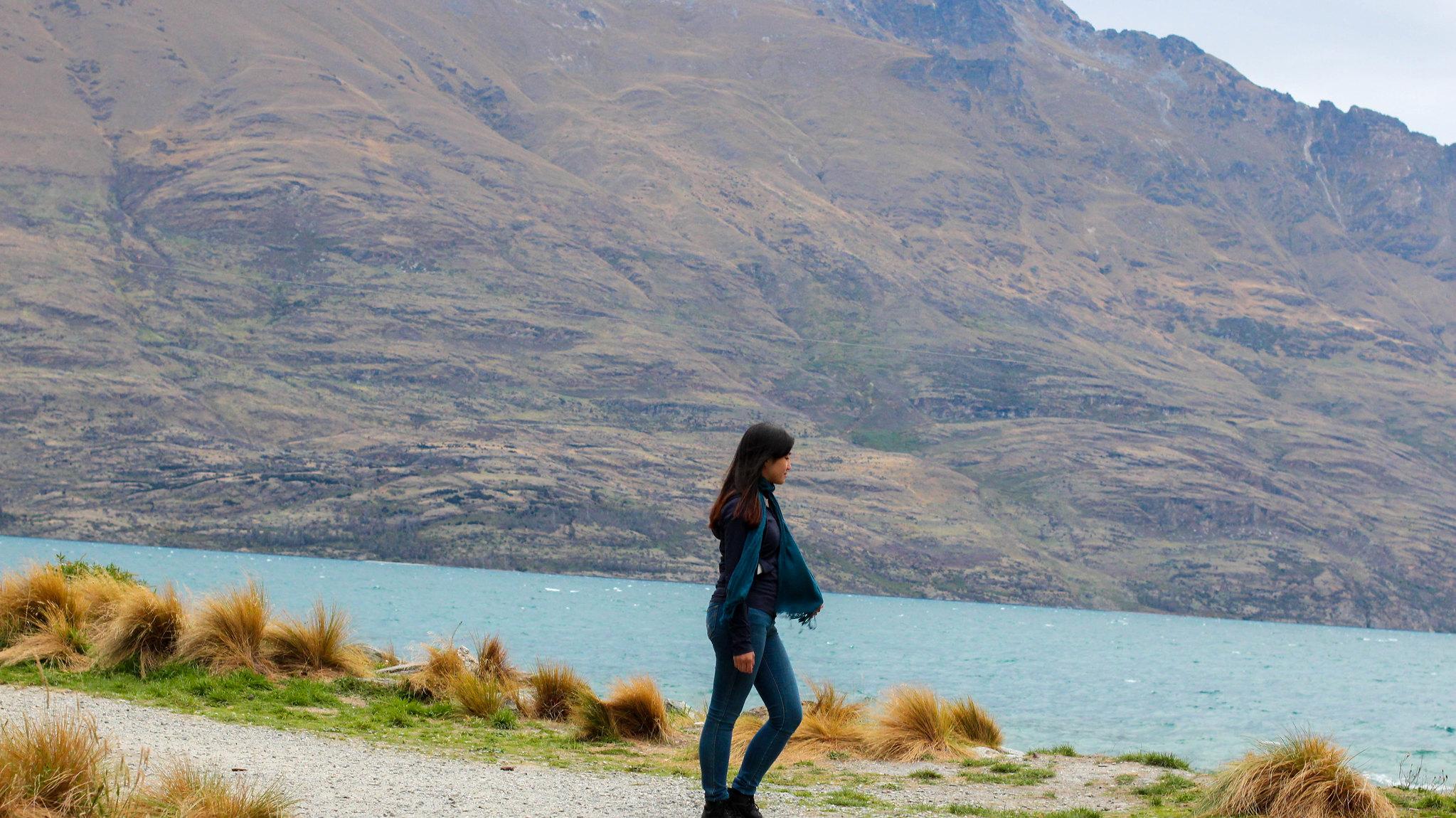 Lake Wakatipu Ride (walk at Queenstown Gardens)