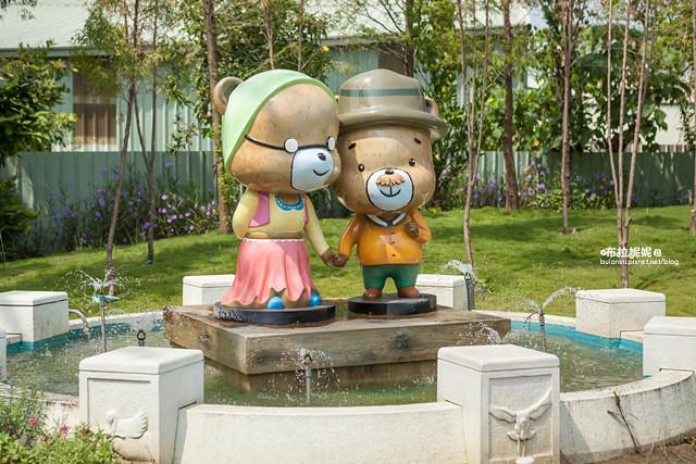 【嘉義旅遊景點】熊熊!是你!可愛度破表觀光工廠@熊大庄森林主題休閒園區