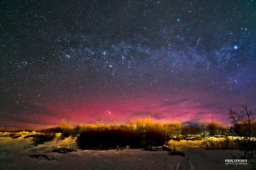 Red Aurora in Bethel.
