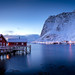[Norway] Lofoten - Reine at dusk by Julien Chaudet