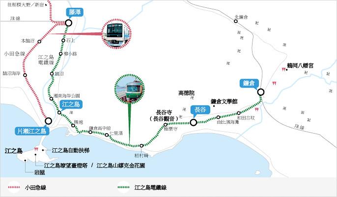 江之電列車