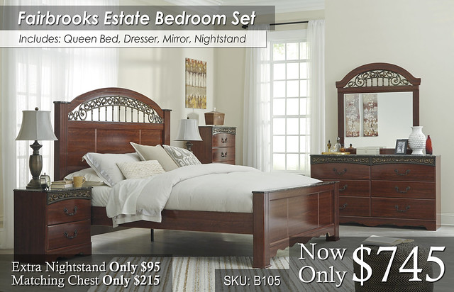 Fairbrooks Estate Bed Set