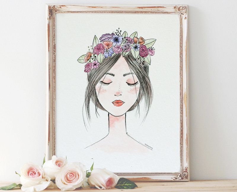 lámina flores - muchochupchup