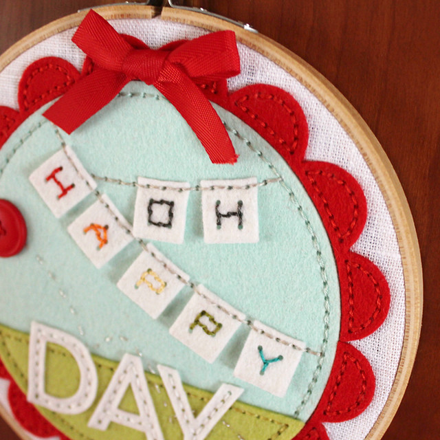 Oh Happy Day Hoop Close Up 1