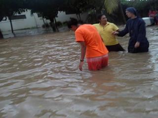 Inundación en Playa Prieta -  Abril de 2016