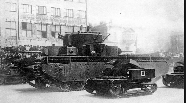 Tankette T-27 and T-35
