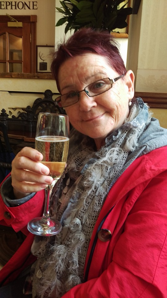 Welcome drinks at Old Government House Hotel, Guernse