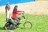 Ayah & Ananda bermqin sepeda