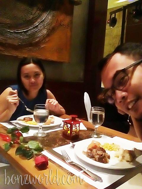 Valentine's 2016 @ B Hotel (dinner)
