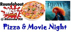 Pizza & Movie Night at BUC: Brave