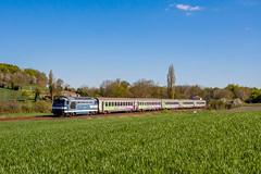18 avril 2016 BB 67496 Train 3856 Bordeaux -> Nantes Chartuzac (17) - Photo of Jussas