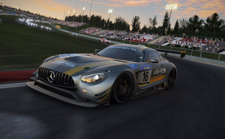 mercedes amg gt3 in k rze kostenlos bei project cars. Black Bedroom Furniture Sets. Home Design Ideas