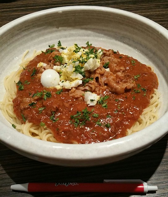 2016-Apr-24 SPAGHeTEI - double meat sauce