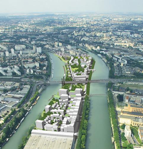 """Résultat de recherche d'images pour """"ecoquartier fluvial ile saint denis"""""""