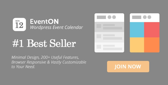 EventOn v2.3.23 - WordPress Event Calendar Plugin