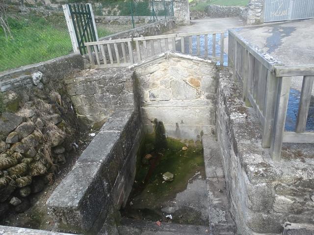 Fonte de Arriba en Laxe