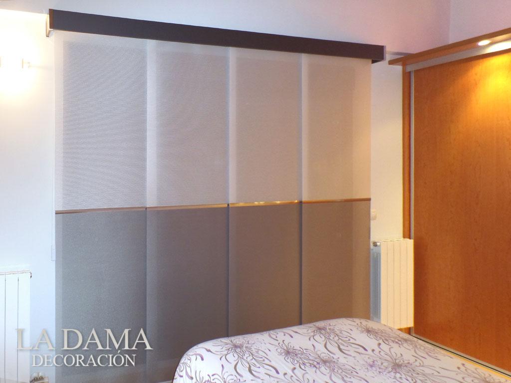 Fotograf as de paneles japoneses la dama decoraci n for Panel japones blanco y gris
