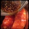 #Homemade #MapleGlazed #salmon #CucinaDelloZio - pour over salmon