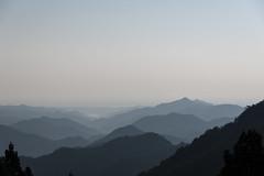 正丸峠からの眺め・・・靄ってます
