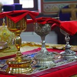 Литургия в Успенском соборе Новороссийска