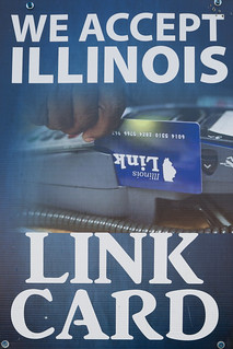 We Accept Illinois Link Card