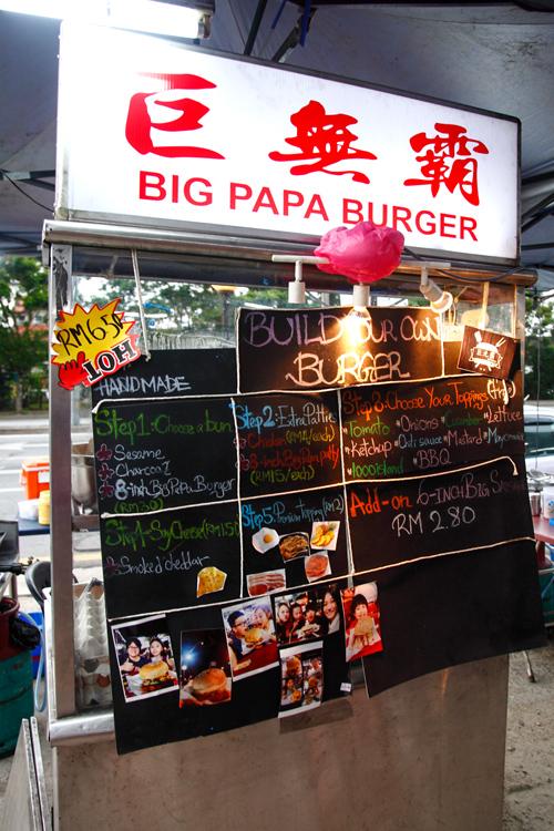 Big Papa Burger Stall Kepong