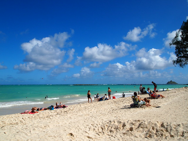 PB280394 Kailua Beach Park(カイルア・ビーチ・パーク) ハワイ