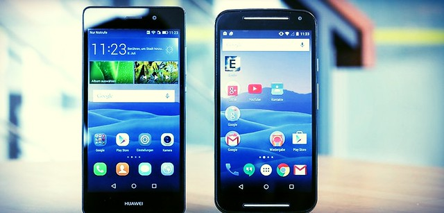 Huawei P8 Lite vs Samsung A5