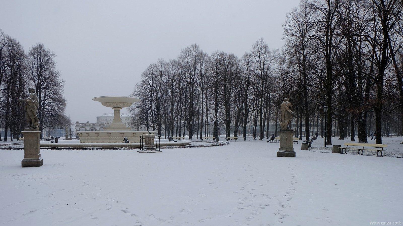 Ogrod Saski, Warszawa, Poland