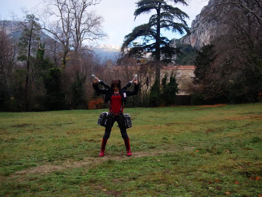 related image - Shooting Shingeki no Kyojin - Parc de Saint Pons - Gemenos - 2015-12-19- P1260237