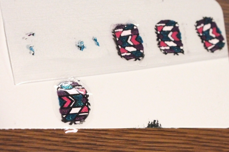 Making full nail decal