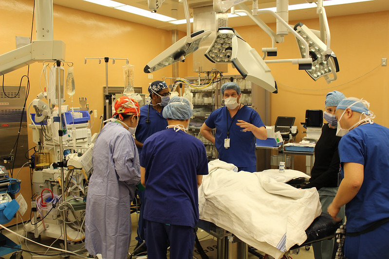 A University of Toronto team performed Canada's first hand and forearm transplant on Jan. 12. The surgery, which followed five years of planning, was a 14-hour marathon that needed 18 surgeons from U of T and a multidisciplinary University Health Network (UHN) team that included anesthesiologists, psychiatrists, pharmacists, nurses and other health-care professionals. These photos from UHN provide a glimpse of the work involved.