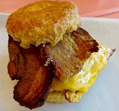 breakfast biscuit The Pin Up All Star Diner