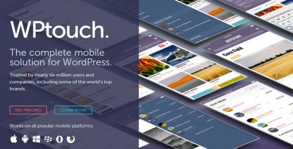WP Touch Pro v4.0.17 WordPress Plugin