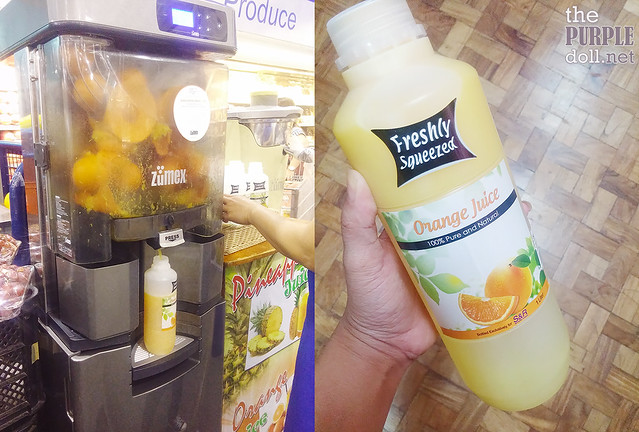 Freshly Squeezed Orange Juice at SnR