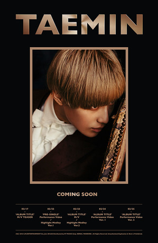 Taemin 1st Mini Album Teaser01