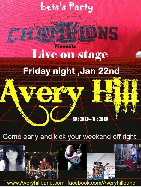 Avery Hill 1-22-16