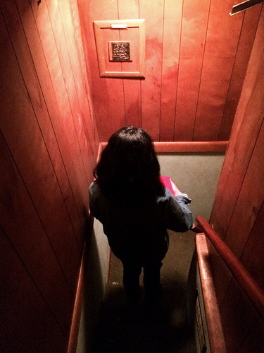 Exploring the Halls of the Markham House (January 20 2015)