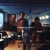 Con @bertoromero, acabando de grabar los temas de SUPERGALACTIC... ¡Tremendooo!