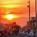 New Smokey Mountain, Tondo - Sunset at the dumpsite by Mio Cade
