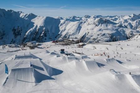 Snowparky v Tyrolsku