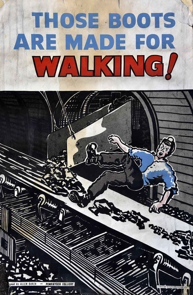 1970 S Coal Mining Safety Poster Nearly Met My Maker