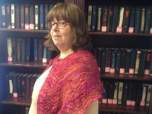 Knit you happy, scarf.