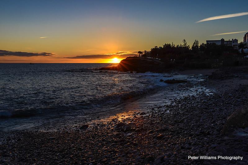 """""""Sun On The Rocks"""" - Playa Blanca"""